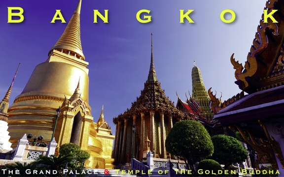 Bangkok – The Grand Palace & Temple of the Golden Buddha