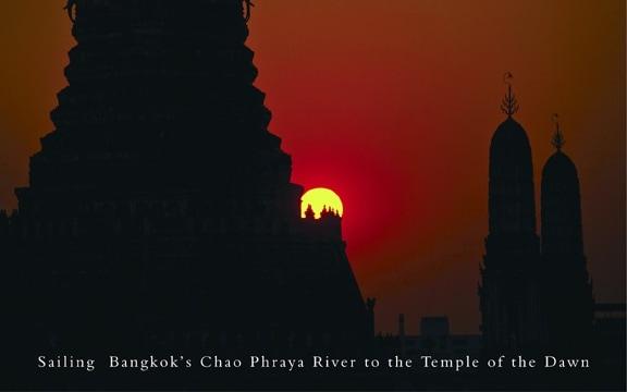 Thailand – Sailing Bangkok's Chao Phraya River to the Temple of the Dawn
