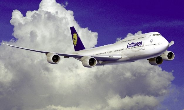 Clear Blue Skies – Lufthansa Airlines