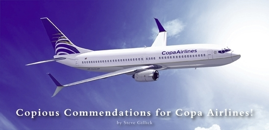 Clear Blue Skies – Copa Airlines