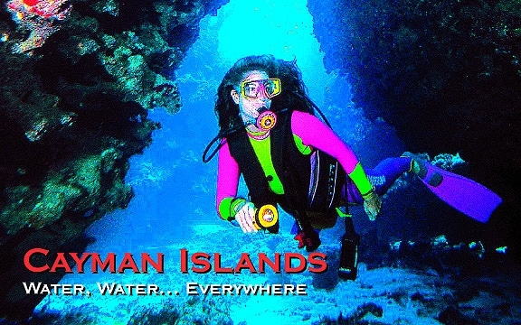 Cayman Islands – Water, Water… Everywhere