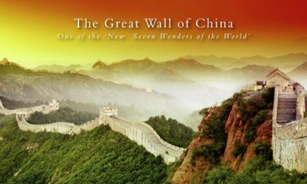 The Great Wall of China: One of the 'New Seven Wonders of the World'