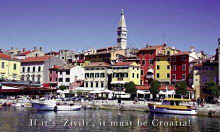 If it's 'Živili', it must be Croatia!