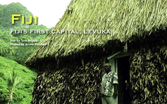 FIJI'S FIRST CAPITAL, LEVUKA