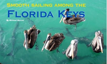 Smooth sailing among the  Florida Keys