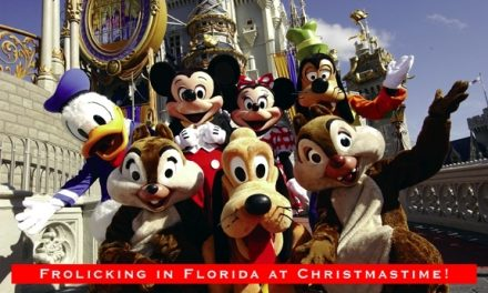 Frolicking in Florida at Christmastime!