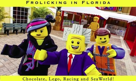 Frolicking in Florida – Chocolate, Lego, Racing and SeaWorld!