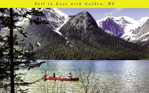 Fall in Love with Golden, BC
