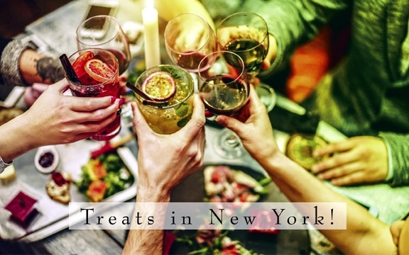 USA – Treats in New York!