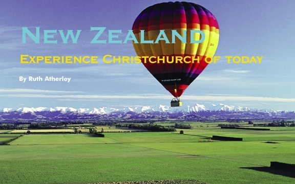 New Zealand – Experience Christchurch of today