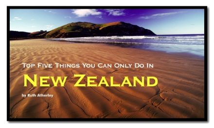Top Five Things You Can Only Do In New Zealand