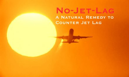 No-Jet-Lag – Natural Remedy to Counter Jet Lag