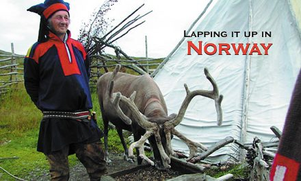 Lapping it up in Norway