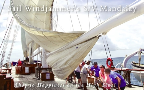 Sail Windjammer's S/V Mandalay – Ahoy to Happiness on the High Seas!