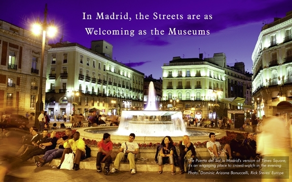 Spain – In Madrid, the Streets are as Welcoming as the Museums