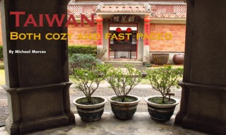 Taiwan – Both cozy and fast paced