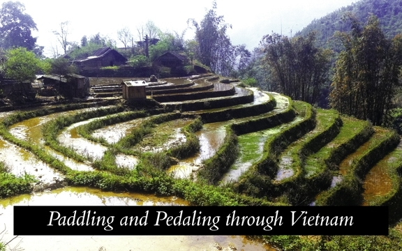Paddling and Pedaling through Vietnam