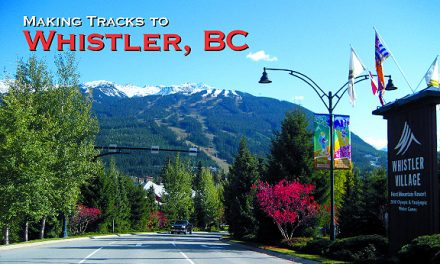 Making Tracks to Whistler, BC