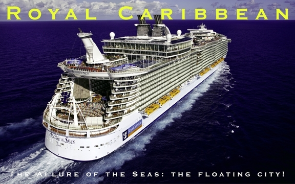The Allure of the Seas: the floating city!