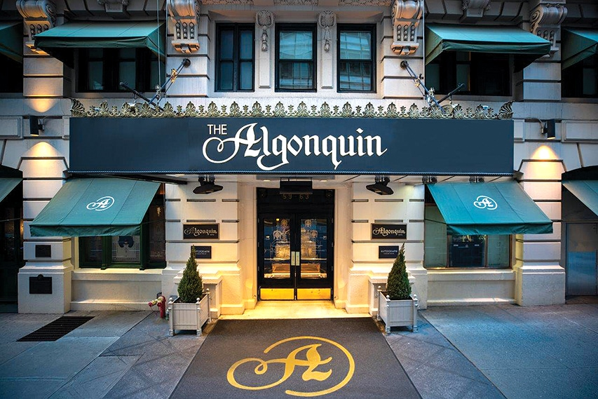 The Algonquin Hotel  Times Square New York