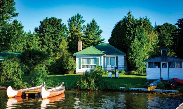 Find your farm-to-lakefront cottage getaway at Elmhirst's Resort