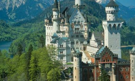 Neuschwanstein Castle was voted as the top attraction by 15,000 international visitors