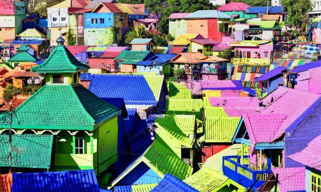 Jodipan, Indonesia, Java's Rainbow Village