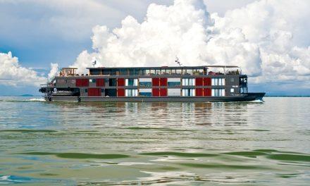 An Aqua Expedition on The Mekong