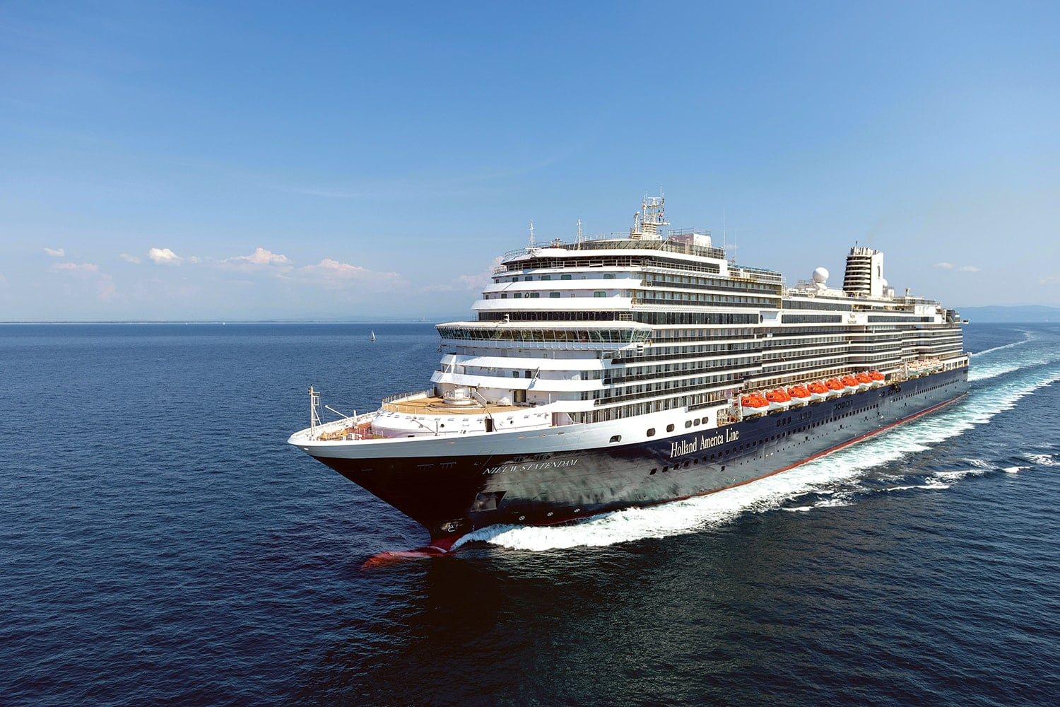 Holland America's New Style of Cruising on the Nieuw Statendam